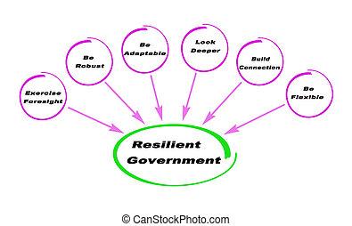 rugalmas, kormány