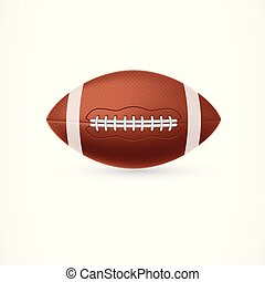 rugby ball american football
