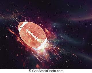 Rugby Ball Flies