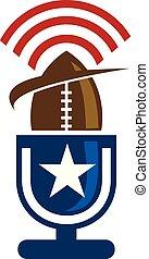 rugby, emblem, schablone, logo