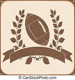 rugby, fond