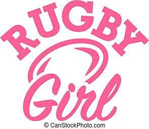 rugby, girl