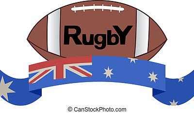 rugby, icône