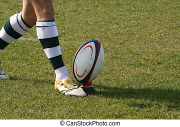 rugby, pateador