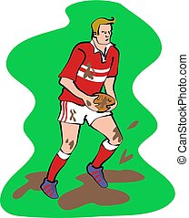 rugby player - team sports