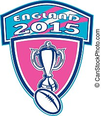 rugby, tasse, balle, angleterre, 2015, bouclier