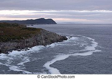 Atlantic coastline - Rugged Atlantic coastline.