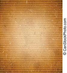 Rugged cardboard background - Rugged and weathered vector...