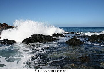 Rugged Hawaii Coast