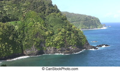 Rugged Maui Coast - the rugged maui coast along the road to...