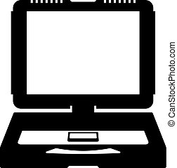 Rugged notebook icon
