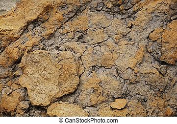 Rugged Rock Face