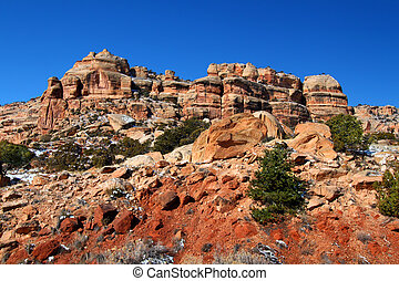 Rugged Scenery of Western Colorado