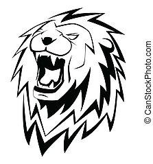 rugido, león