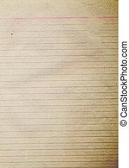 ruige , papier, oud, textuur