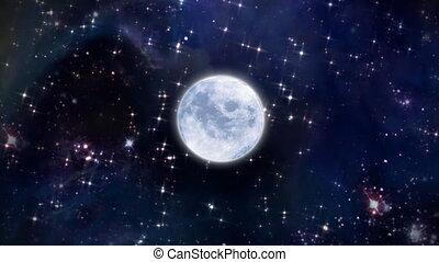 ruimte, maan