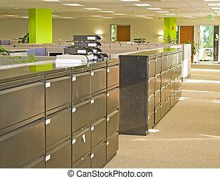 ruimtes, kantoor