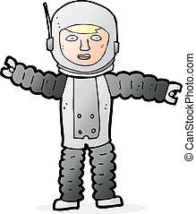 ruimtevaarder, spotprent