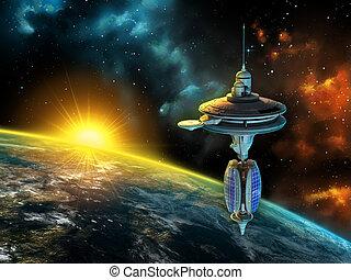ruimtevaartstation