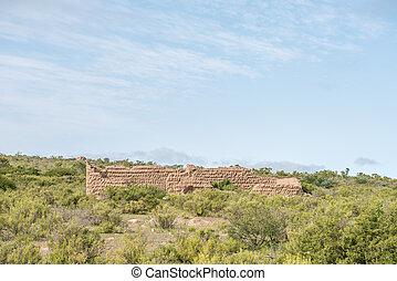Ruin between Kharkams and Spoegrivier