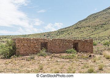 Ruin of a farm building
