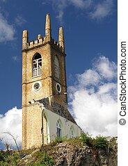 Ruin - Old church in St. George / Grenada