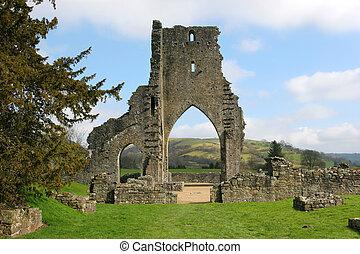 ruinas antiguas, abadía