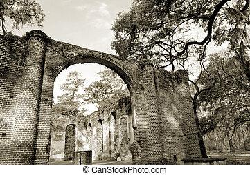 ruinas, iglesia