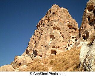 Ruined City in Cappadocia