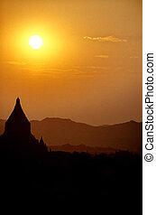Ruined temple- Bagan, Burma (Myanmar)
