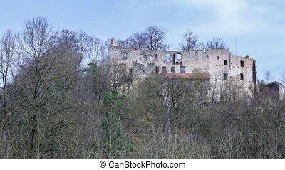 Ruinen,  hilgartsberg, Bayern, deutschland