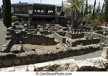 ruinen, synagoge