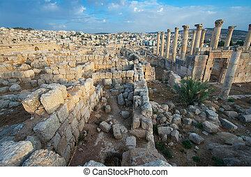 ruines, jerash