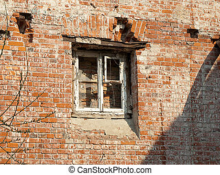 ruines, moscou, vieux, centre, russie