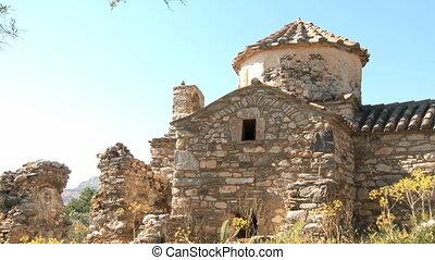 ruines, naxos
