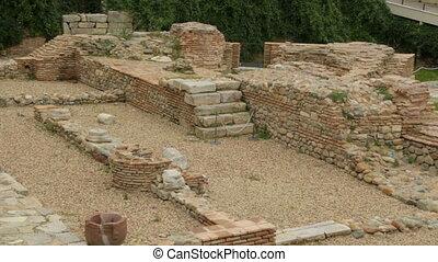 ruines, sofia, archéologique, serdica