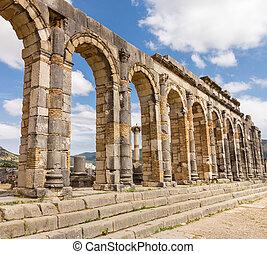Ruins at Volubilis Morocco