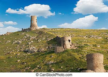 ruins fortress