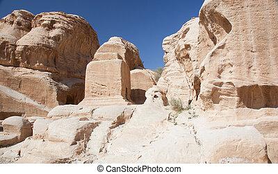 Ruins from Petra, Jordan