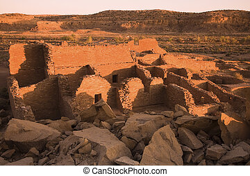Ruins in Chaco Culture