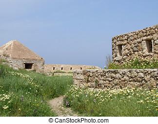 Ruins in Crete Greece