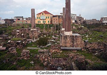 Ruins in Tyre