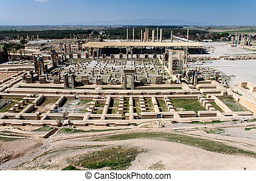 Ruins of ancient Persepolis, Iran.