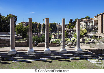 Ruins of ancient Rome preserved - Ruins of ancient Rome ...