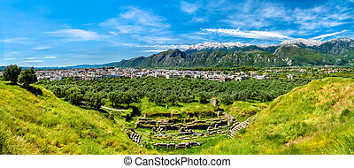 Ruins of Ancient Sparta in Greece - The Ancient Sparta ...