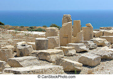 Ruins of ancient town