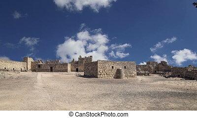 Ruins of Azraq Castle,Jordan - Ruins of Azraq Castle,...
