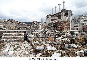 Ruins of basilica