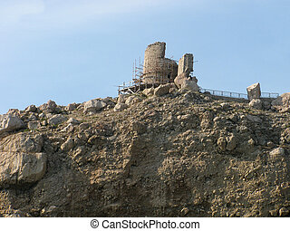 ruins of Chembalo fortress