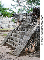 Ruins of Chichen Itza: Feathered Serpent